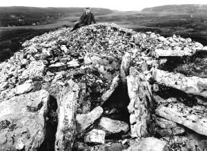 praeger at cairn e 1911