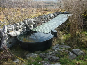 Water harvesting on remote areas