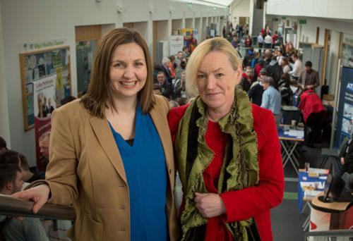 Careers Officers: Deborah Seddon and Adette Ring