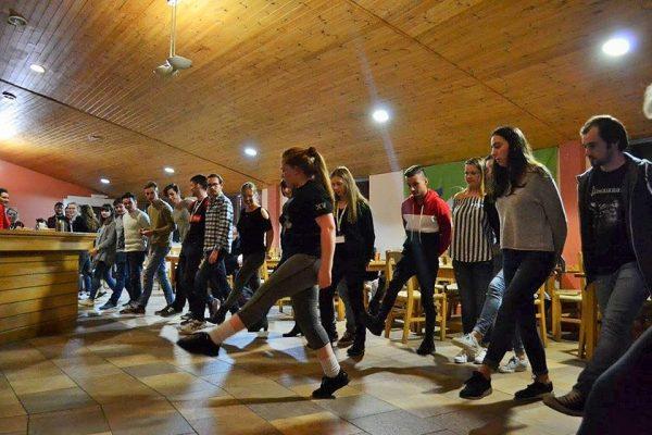 IT Sligo Internaional Students Dancing