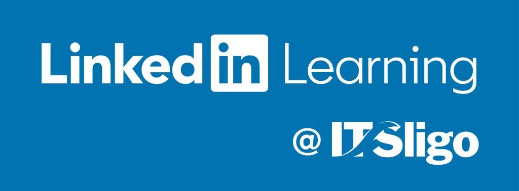 Linkedin Learning at IT Sligo logo