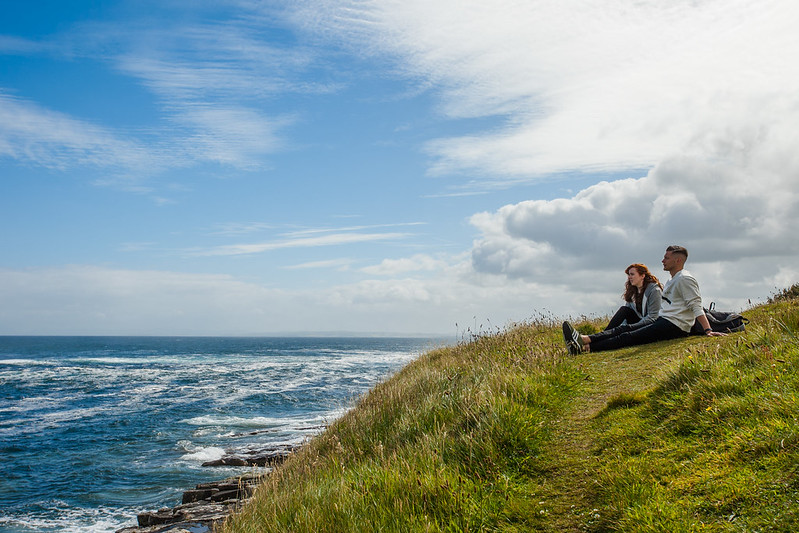 IIT Sligo Students by the sea