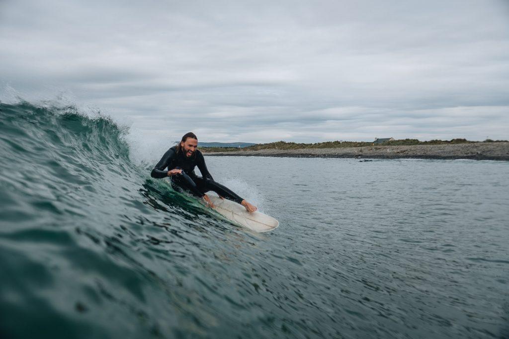 Surfing in Sligo