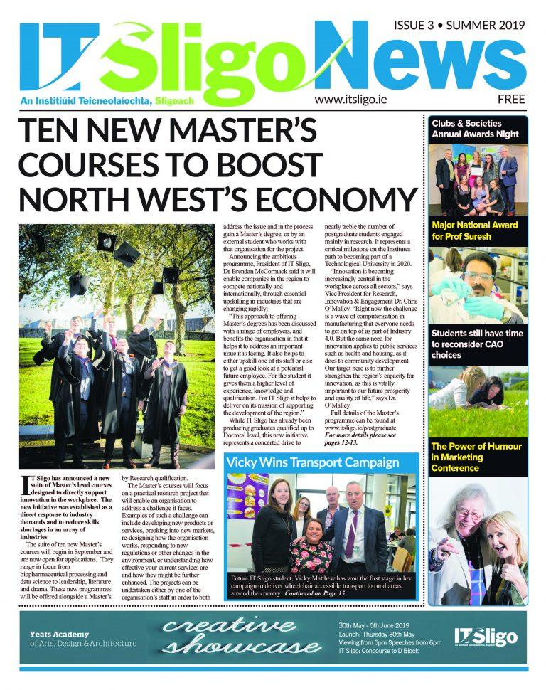 IT Sligo Newspaper Issue 3