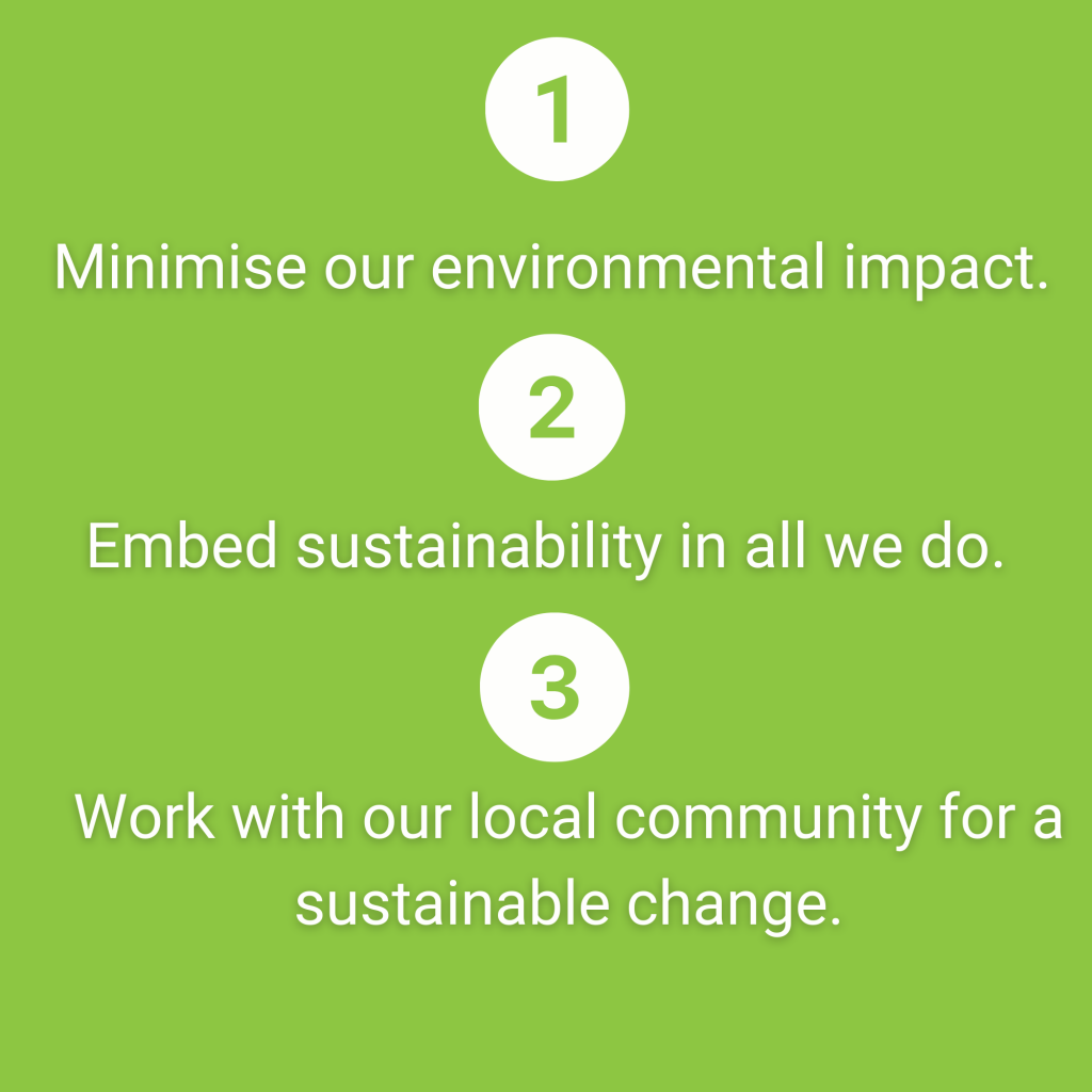 IT Sligo Green Campus Three Goals Sustainability