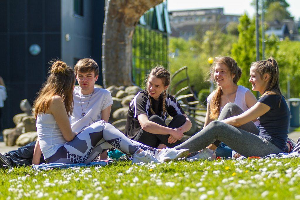 IT Sligo Green Campus Students
