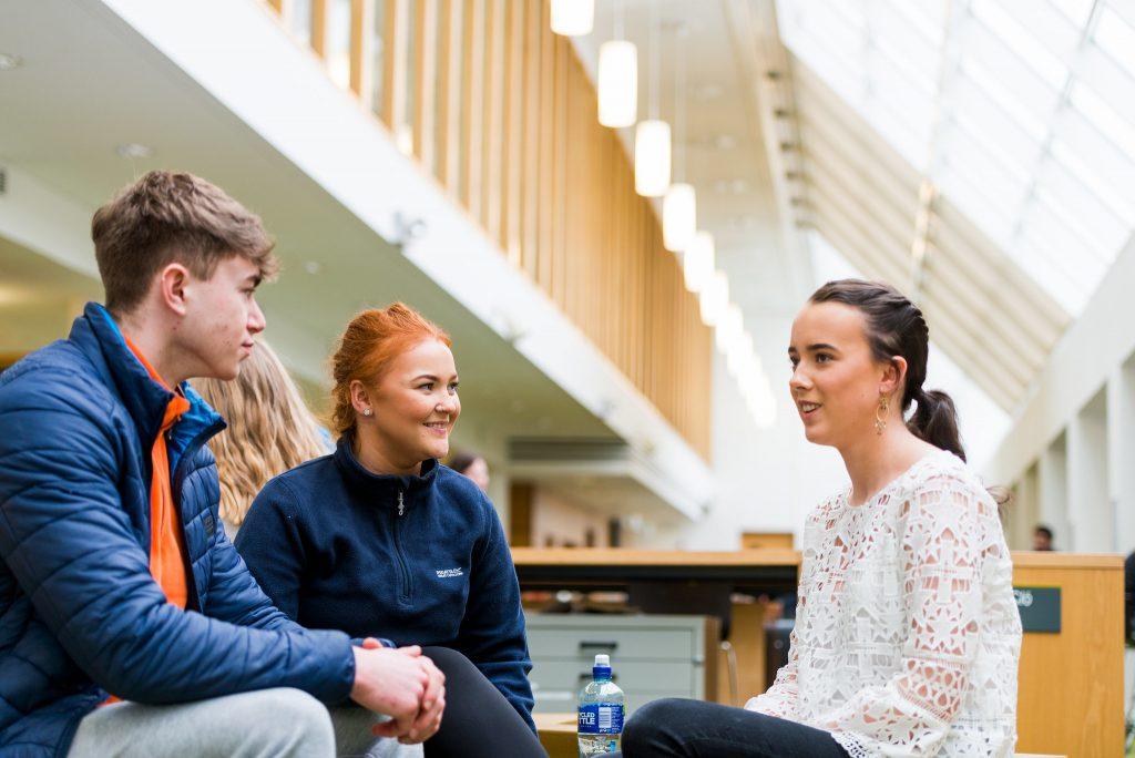 IT Sligo Students on Campus