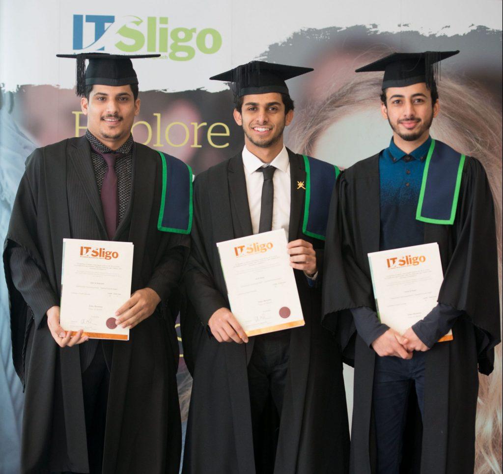 IT Sligo International Students Graduation - find out how to apply