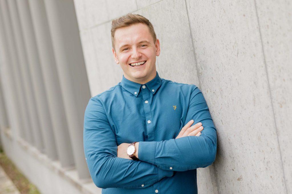 IT Sligo Students Union President Jason Quinn