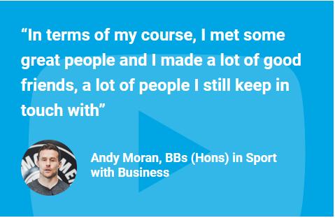 Andy Moran IT Sligo Success Story