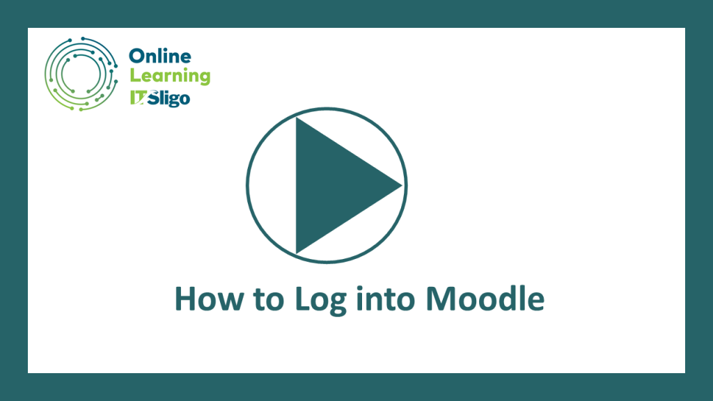 How to Log into Moodle image