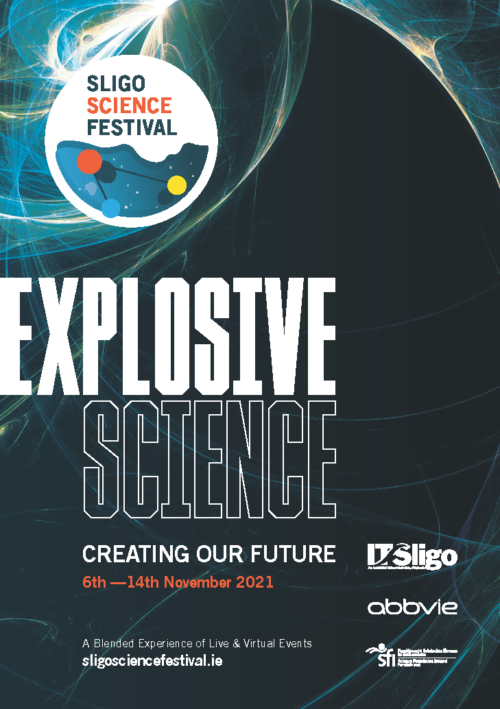 Sligo Science Festival Week Brochure Cover 2021
