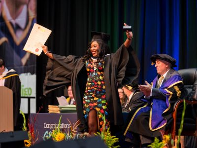 Graduation at IT Sligo