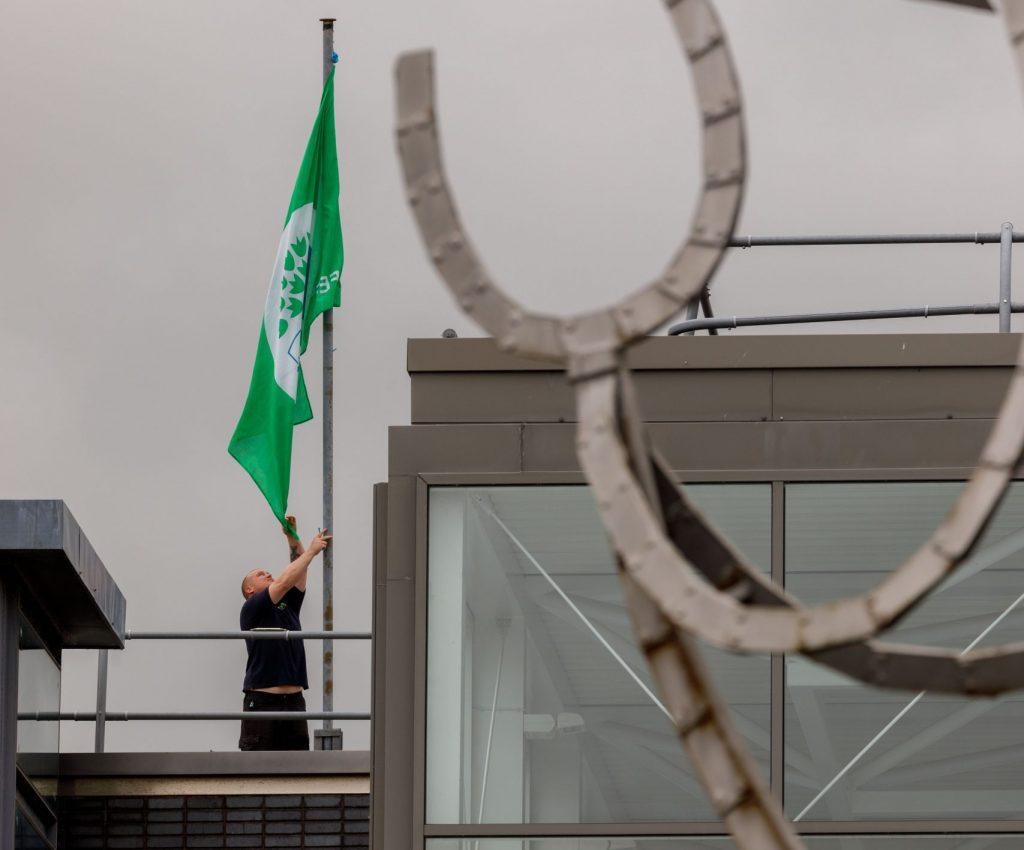 IT Sligo Green Flag Raised
